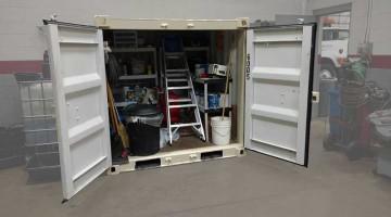 Full Yard Buddy Storage Container Pod