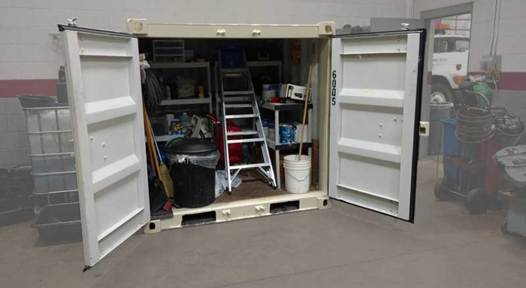 Full Yard Buddy Storage Container Pod
