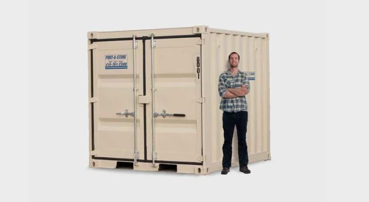 8x8' Storage Pod Unit