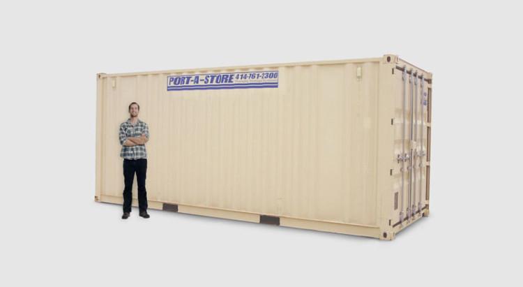 20 Foot Mobile Storage Pod