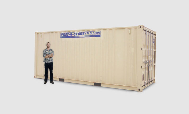 20 Foot Mobile Storage Pod