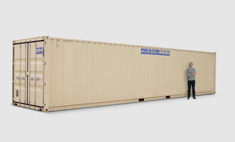 40 ft Storage Container Port A Store