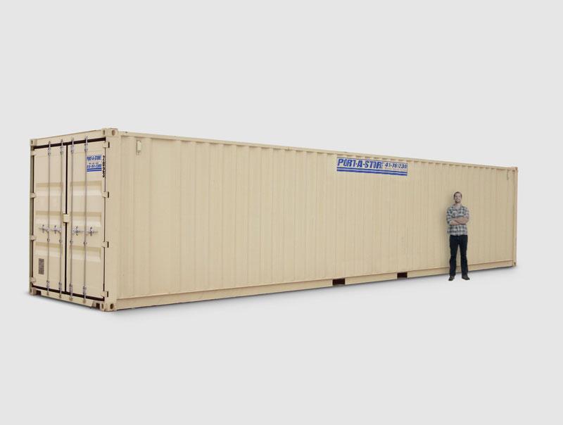 40 Foot Storage Pod