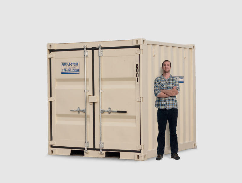 8 Foot Portable Storage Container Pod