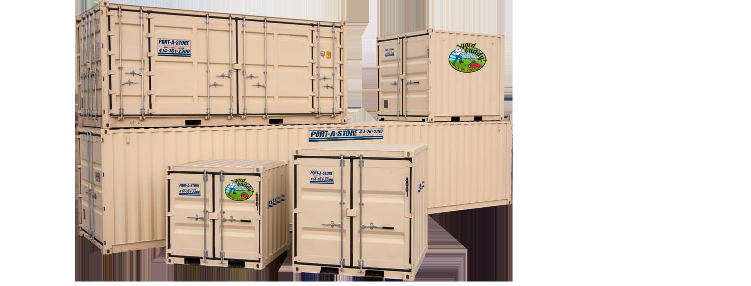 Rental Storage Pod Units