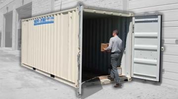20' Storage Container - Ground Level Pod