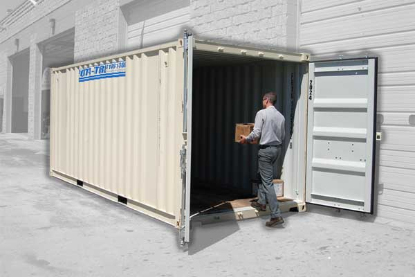 20' Storage Container - Ground Level Pod