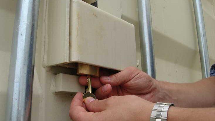 Storage Pod lock