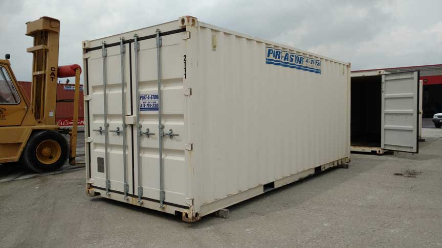 Stock# 2111 - 20ft Shipping Container - For Sale in Milwaukee, WI