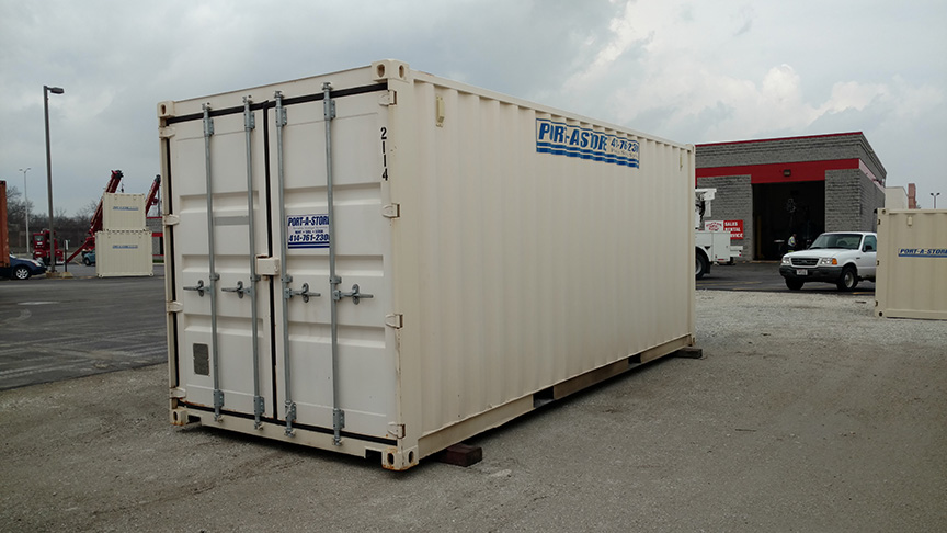 2114 - Used 20ft. Storage Container for sale