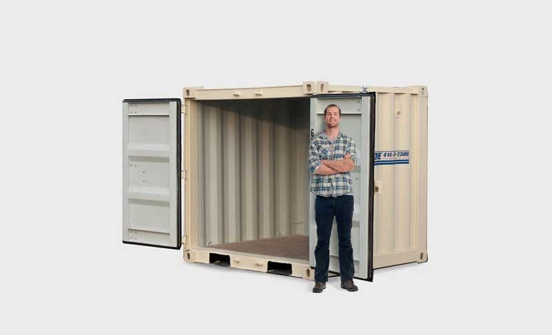 8 ft. Storage Pod Unit