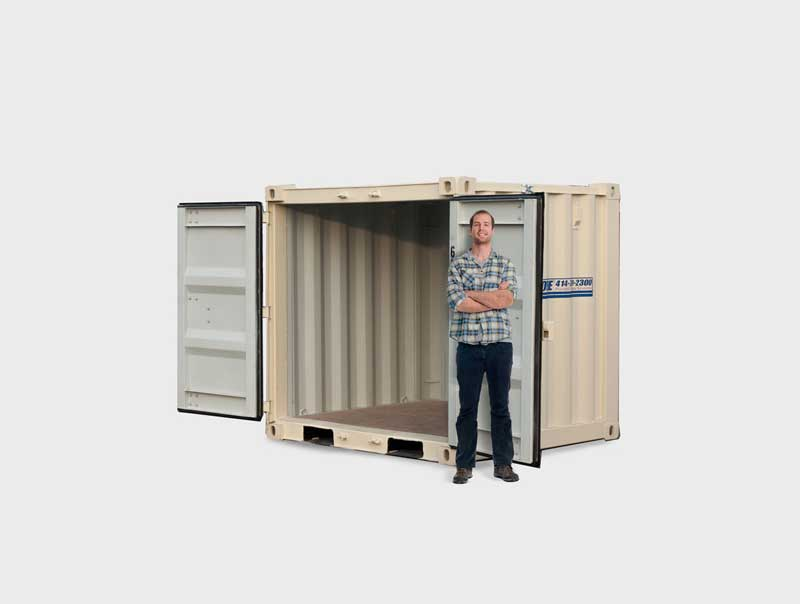 Storage Pod Unit & 8x8u0027 Super-Shed™ - Port-A-Store