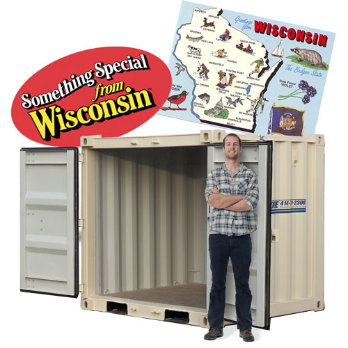 Portable Storage Container rental in wisconsin